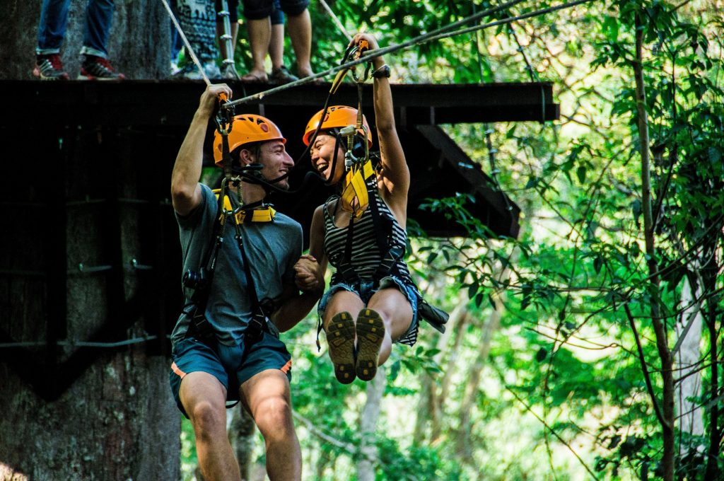 Angkor Zipline, zipline course, jungle, Siem Reap, fun things to do