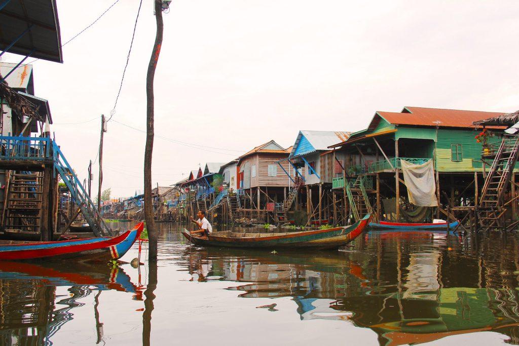 Kompong Phluk Floating Village, Floating village Siem Reap, Siem Reap Floating Villages