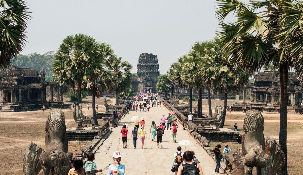 Angkor Wat crowds