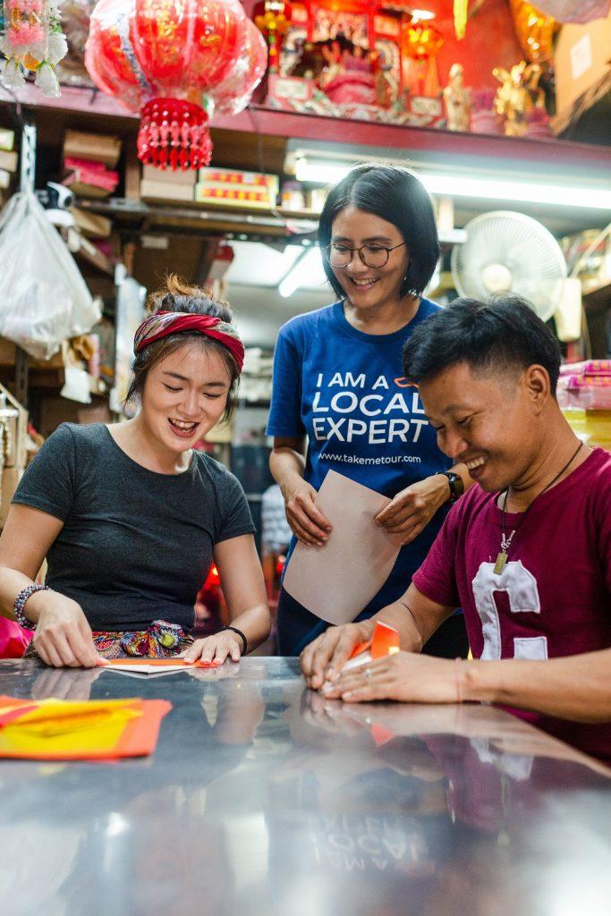 Bangkok day trip Chinatown, TakeMeTour, Bangkok solo female travel