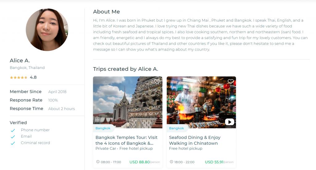 Local Expert profile, TakeMeTour, Bangkok Chinatown, Temple tour