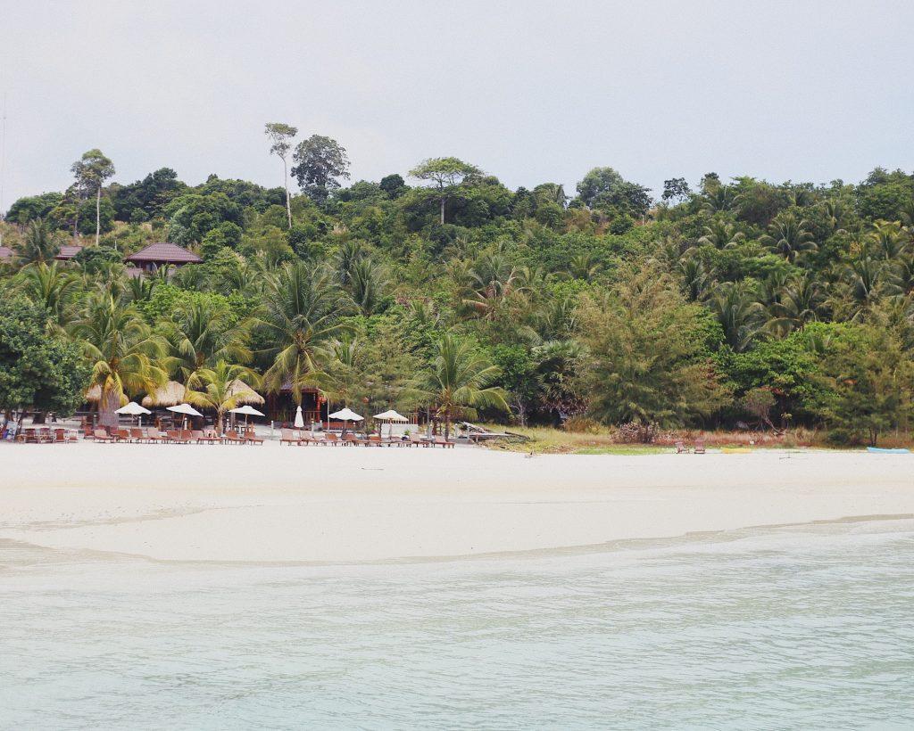 Koh Rong, Cambodia beach
