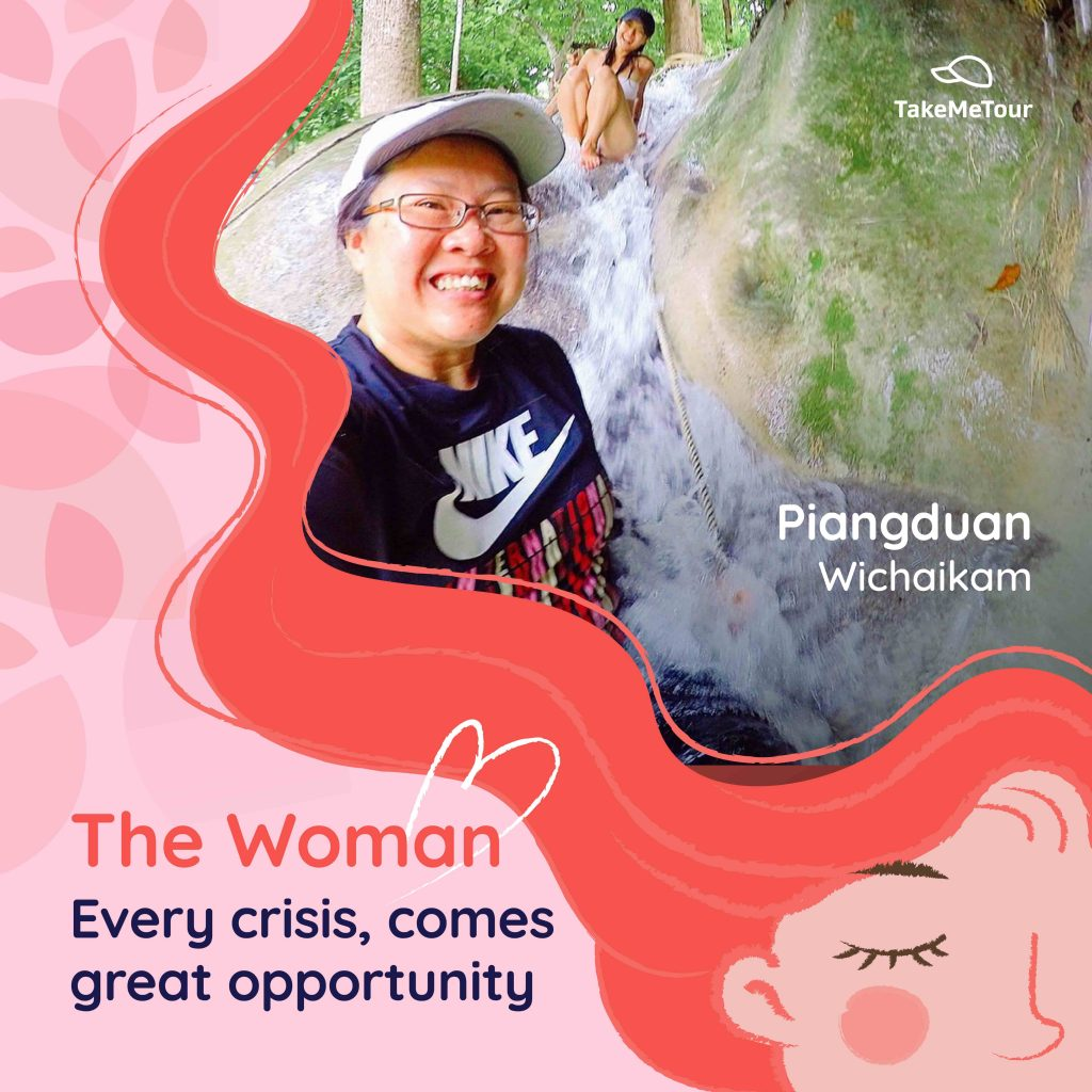 Pianduan International women's day takemetour